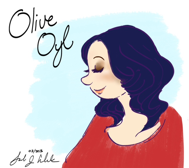 Olive Oyl Hair Down