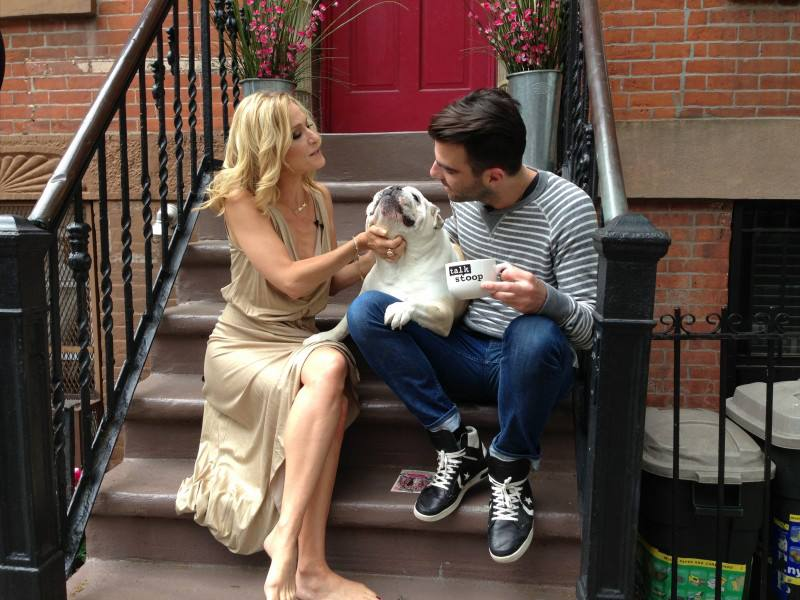 Cat Greenleaf & Zachary Quinto