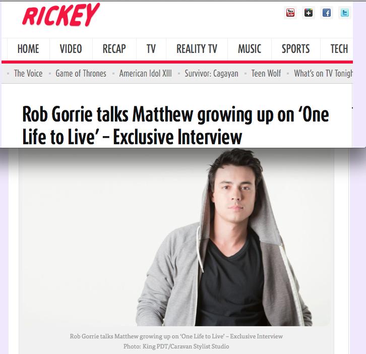 Rickey   Rob Gorrie
