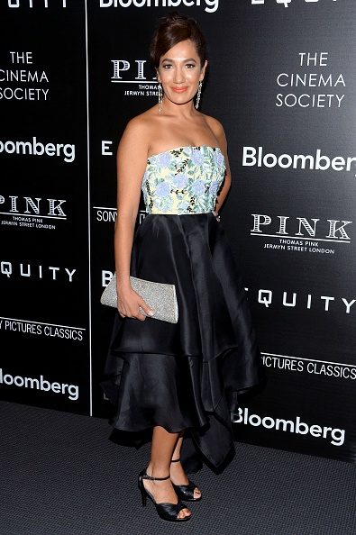 """NEW YORK, NY - JULY 26: Purva Bedi attends a Screening of Sony Pictures Classics' """"Equity"""" hosted by The Cinema Society with Bloomberg & Thomas Pink at TBD on July 26, 2016 in New York City. (Photo by Clint Spaulding/Patrick McMullan via Getty Images)"""